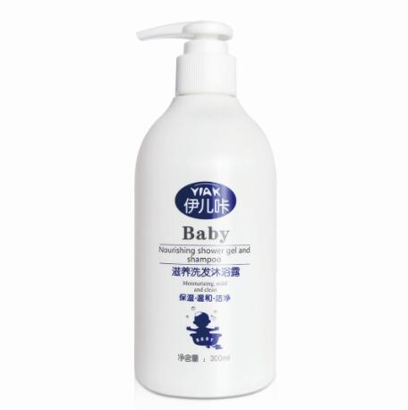 伊儿咔·滋养洗发沐浴露