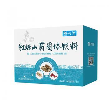 善卡優·牡蠣山藥固體飲料